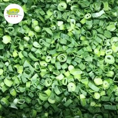 Shandong Frozen Fresh Green Onion Iqf Frozen Spring Onion
