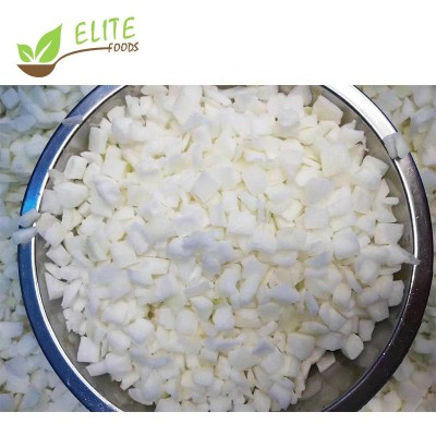 2020 Frozen Onion Diced Organic Iqf Onion Cubes With Good Price