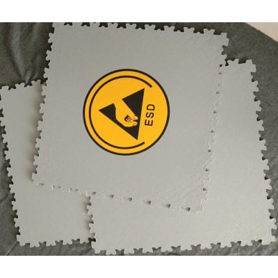 Interlocking ESD PVC